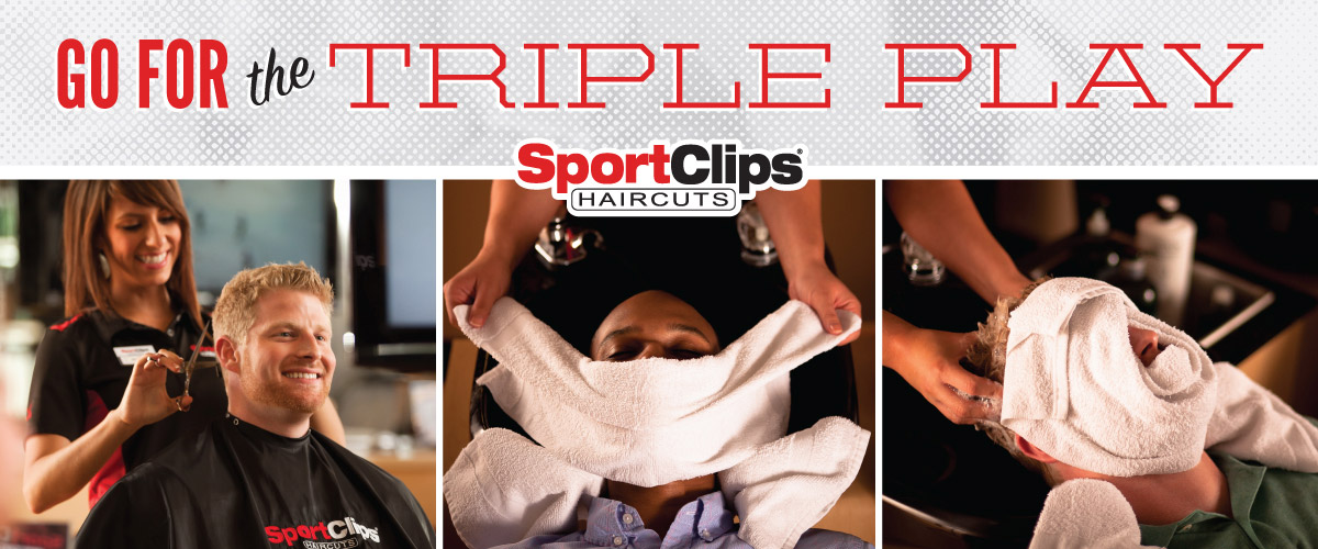 The Sport Clips Haircuts of Huebner Oaks Triple Play